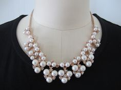Pearl cluster, for casual or occasion, so versatile design