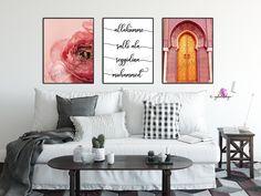 Islamische Wandbilder, arabic arche, orientalische Tür, Mosque, islamic decor, islamic wallart, islamicquotes, interiordesign, islamicposter von Gulartdesign auf Etsy