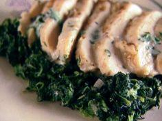 Chicken Florentine Style recipe from Giada De Laurentiis via Food Network