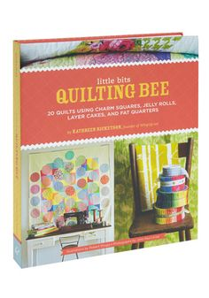 If you're inspired by the idea of creating your own quilts, consult this guide for beginners and experts alike by legendary crafting guru and Whipup.net founder, Kathreen Ricketson! Made for the DIY devotee who has limited time and resources in mind, this manual includes instructions for twenty separate patterns that rely on one of four pre-cut fabric swatches that can be purchased easily either locally or online. Whether you're fond of textile fat quarters, layer cakes, jelly rolls, or…