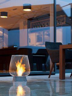 Eco Smart Fire  Bulb Indoor/Outdoor Fireplace
