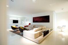 ... Wohnzimmer Rot auf Pinterest Rote Sofas, Rotes Sofa und Wohnzimmer