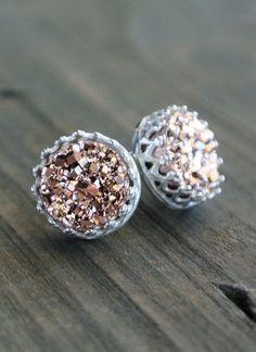 Gorgeous druzy earrings