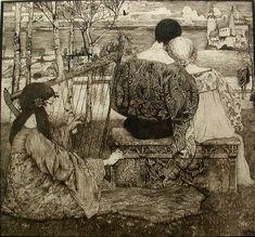 Liebe by Heinrich Vogeler