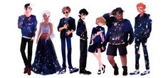 Fashionable Team Voltron - by hazenheim