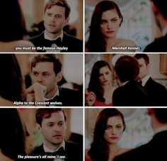 """#TheOriginals 3x04 """"A Walk on the Wild Side"""" - Tristan and Hayley"""