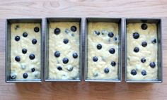 Buttermilk+Banana+Blueberry+Bread+-+A+great+way+to+use+up+those+spotty+bananas,+and+the+perfect+holiday+gift+that+everyone+will+love!