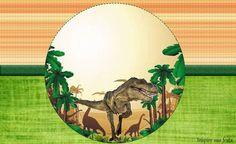 rotulo-lata-de-leite Jurassic World, Fête Jurassic Park, Boys 1st Birthday Cake, Dinosaur Birthday Party, Birthday Party Themes, Dragon Party, Tent Cards, T Rex, Holidays And Events