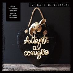 ATTENTI AL CONIGLIO - Das su legno BEWARE OF RABBIT - Das on wood - www.facebook.com/roulerlesmecaniques