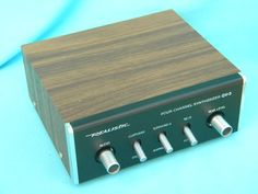 Realistic Quatravox four channel synthesizer QV-3 Made in Japan. I had one of these as a teenager