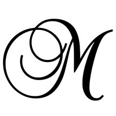 Tattoo Lettering Styles, Hand Drawn Lettering, Cursive Alphabet, Calligraphy Alphabet, Fancy Letter M, Mommy Tattoos, Fairy Tattoo Designs, Image Icon, Letter Stencils