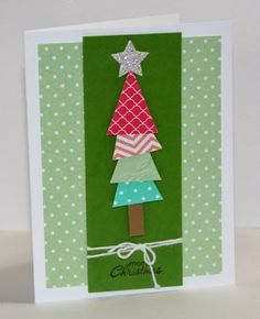 In Color Christmas Tree - Jills Card Creations