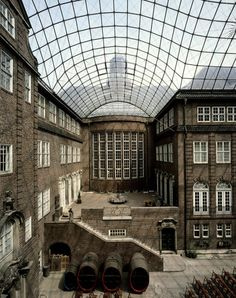 Museum of Hamburg History, Glass Roof-gmp Architekten von Gerkan, Marg und Partner