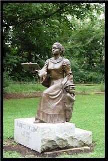Hometown of Harriet Wilson – who wrote what is now regarded as the first novel by an African-American female author to be published in North America (September Black History Quotes, Black History Facts, Black History Month, Art History, Black Authors, Statues, African American History, Black Art, Sculpture Art
