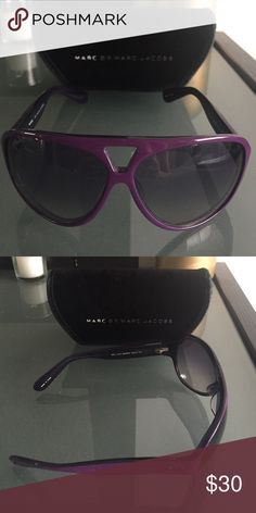 Marc by Marc Jacobs Sunglasses Purple MMJ 019 sunglasses. Discontinued style from Marc by Marc Jacobs. Marc by Marc Jacobs Accessories Sunglasses