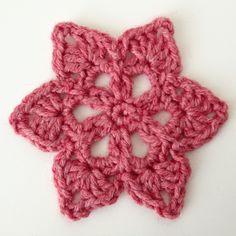 "Crochet motif #36 from the book ""Beyond the square Crochet motifs"" - Sunday Crochet"