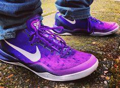 promo code 40424 bbe16 Nike Kobe 8 Purple Gradient Release Date Nike Heels, Nike Wedges, Sneakers  Nike,