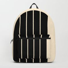 Stripes Backpack by roxart Iphone Skins, Iphone Cases, School Fashion, Apparel Design, Laptop Skin, Shoulder Straps, Laptop Sleeves, Tote Bags, Pouch
