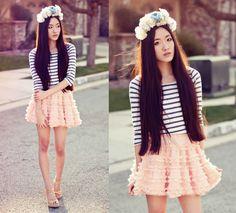 Peach My Heart Petticoat - Skirt - Bottoms - Retro, Indie and Unique Fashion