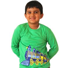 Train Locomotion Kids T-Shirt