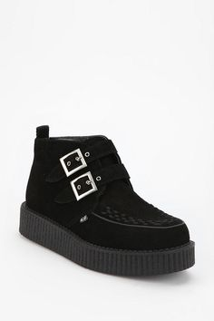 T.U.K. Double Buckle Creeper Boot  #UrbanOutfitters