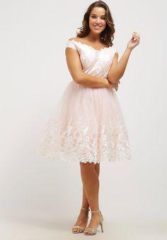 2b40570da565b9 Chi Chi London Curvy KIM - Sukienka koktajlowa - nude za 251