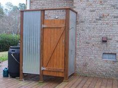 Outside Showers - contemporary - Porch - Wilmington - Konrady & Son…