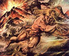Ukázka z příběhu Sopka
