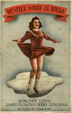 229.  Desfile sobre hielo. Dirigida por Joseph Santley. Barcelona: I. G. Viladot, 1943.  #ProgramasdeMano #BbtkULL #Musicales #DiadelLibro2014