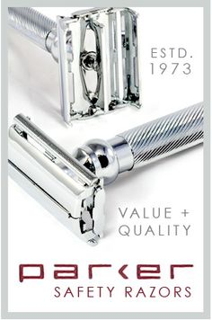 Parker Safety Razors I have this exact razor! Straight Razor Shaving, Shaving Razor, Wet Shaving, Shaving & Grooming, Men's Grooming, Shaving Trimmer, Shaved Hair Cuts, Classic Shaving, Shopping