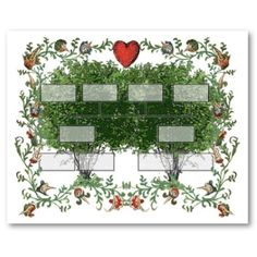 Hearts and Family Tree #family #tree #hearts