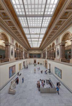 Koninklijke Musea voor Schone Kunsten van België. Bezit meesterwerken van alle periodes van Rubens, over Permeke, tot Rembrandt