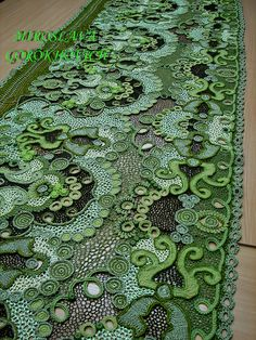 Ukranina freeform crochet designer. Miroslava Gorokhovich. WOW!!!