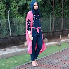 Instagram media by shellaalaztha - im wearing denim overall from @ingehutayashop