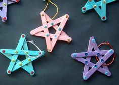 Popsicle Sticks Craft Ideas - As Told By Mom - Popsicle Sticks Craft Ideas – As Told By Mom Best Picture For bathroom crafts For Your Tas - Popsicle Crafts, Craft Stick Crafts, Fun Crafts, Diy And Crafts, Craft Sticks, Craft With Popsicle Sticks, Wood Crafts, Craft Stick Projects, Popsicle Stick Christmas Crafts
