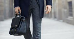 Style | Workwear Essentials | The Leather Briefcase