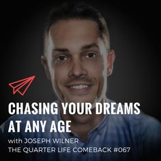 In this episode of The Quarter Life Comeback podcast, I chat to Joseph Wilner about how he chased his dreams and became a pro drummer at the age of Chasing Dreams, Chase Your Dreams, Comebacks, Joseph, Dreaming Of You, How To Become, Age