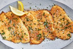 Garlic Parmesan Flounder Will Have You Running To The Fish Market - - Even Ariel would love it. Fish Recipes, Seafood Recipes, Dinner Recipes, Cooking Recipes, Healthy Recipes, Recipies, Chicken Recipes, Keto Recipes, Baked Flounder