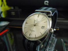 Vintage 1968 Omega Seamaster Cosmic 17 Jewels Automatic Cal.565 Date Men's Watch #Omega #Dress