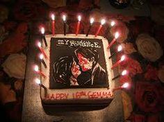 My Chemical Romance Birthday Cake