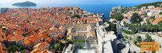 Panorama of Dubrovnik Croatia