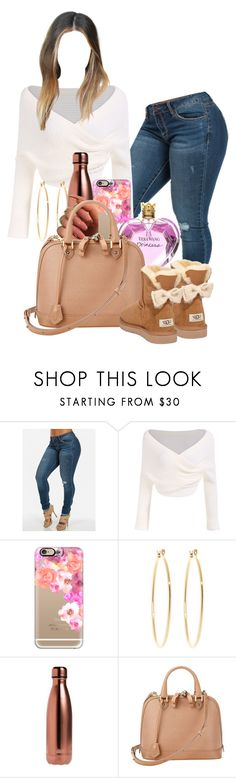 """Pretty Girl, Dainty Vibes"" by melaninprincess-16 ❤ liked on Polyvore featuring Casetify, Brooks Brothers, S'well, Vera Wang, Aspinal of London and UGG Australia"