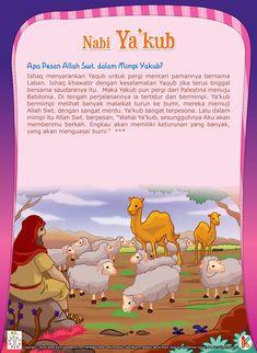 Pesan Allah dalam Mimpi Nabi Yakub History Of Islam, Islam For Kids, Islamic Information, Islam Facts, Islam Muslim, Self Reminder, Muslim Girls, Stories For Kids, Kids And Parenting