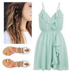 """""""Summer Fling"""" by doodles24 ❤ liked on Polyvore featuring New Look"""