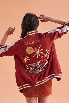 Capulet Mai Tai Souvenir Bomber Jacket - Urban Outfitters