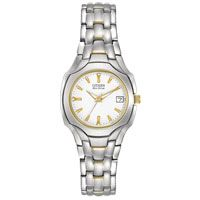 Citizen Eco-Drive Women's Two-Tone Gold White Dial Stainless Watch for sale online Citizen Eco Drive Ladies, Models, Watch Sale, Watches For Men, Wrist Watches, Bracelet Watch, Ladies Bracelet, Jewelry Watches, Gold
