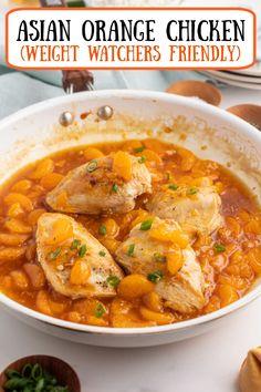 Chicken Skillet Recipes, Easy Chicken Dinner Recipes, Easy Meals, Healthy Eating Recipes, Cooking Recipes, Ww Recipes, Asian Recipes, Ethnic Recipes, Asian Foods