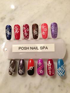 nails designs, posh nail spa