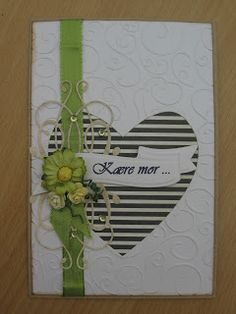 Mors Dag / Mothers Day Card