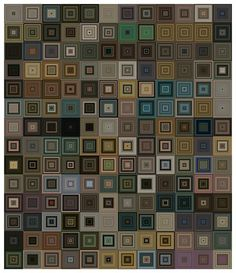 Available for sale from Mark Moore Fine Art, Jason Salavon, One Week Skin (HBO-Sq) Archival inkjet, 67 × 57 in Great Paintings, One Week, Wow Products, Fine Art America, Artsy, Design, Grid, Patterns, Block Prints